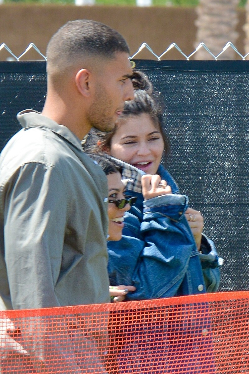 kylie jenner and younes