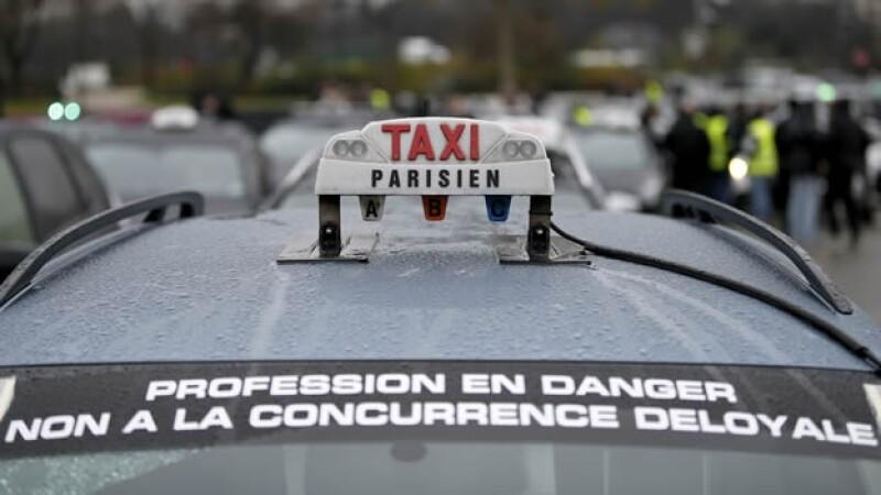 Uber Francia Taxi