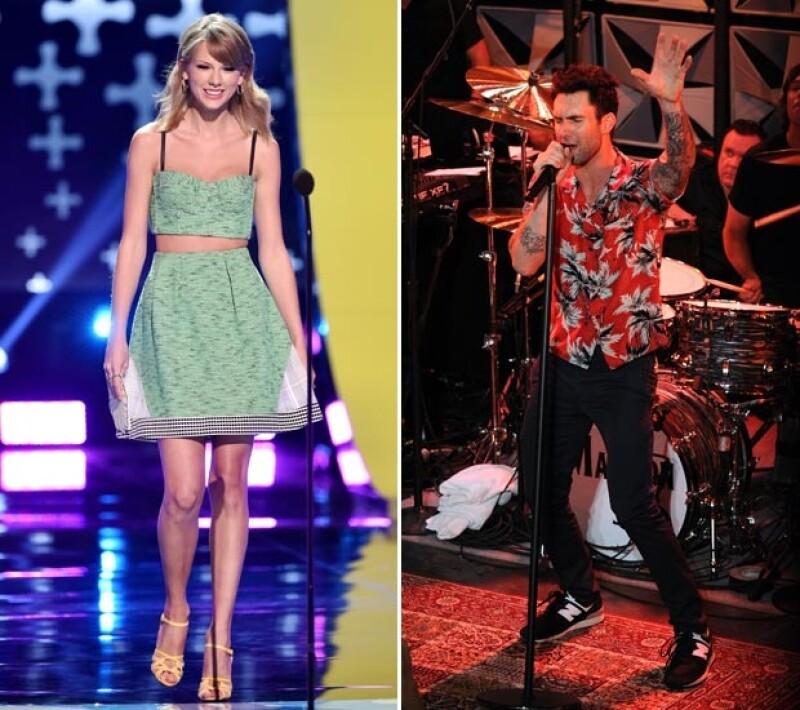 Taylor Swift y Adam Levine también se presentarán. Será la primera del cantante después de casarse con Behati Prinsloo.