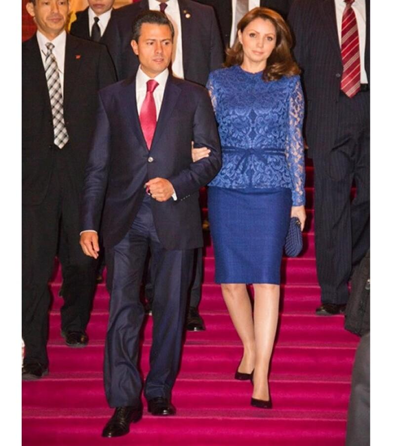 El estilo de la primera dama recuerda al de Letizia de Asturias.