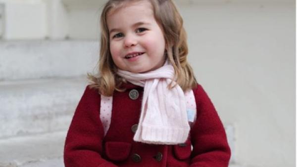 Princesa Charlotte mayo de 2018