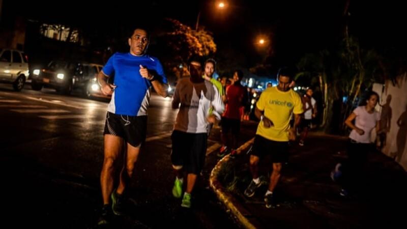 ejercicio correr nocturno