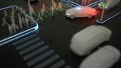 Auto eléctrico autónomo / para ciudades inteligentes diálogos