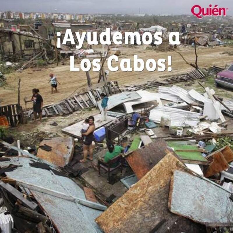 Tras el paso del huracán Odile, muchas comunidades de Los Cabos, Baja California Sur, quedaron afectadas. Por lo que te decimos dónde puedes aportar para ayudar a los pobladores.
