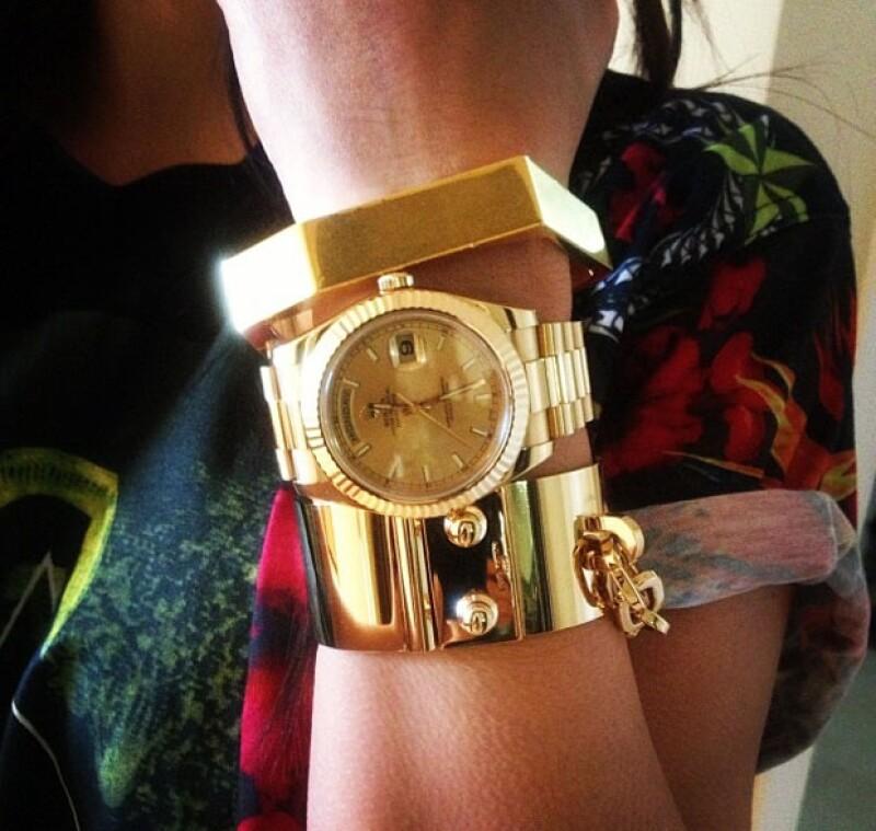 El reloj tiene un precio de entre 20 y 100 mil dólares.