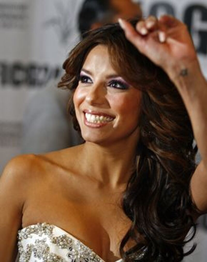 La actriz estadounidense afirmó que la filantropía es para ella una misión primordial, durante en la tercera gala benéfica de la 24 edición del Festival Internacional de Cine de Guadalajara.