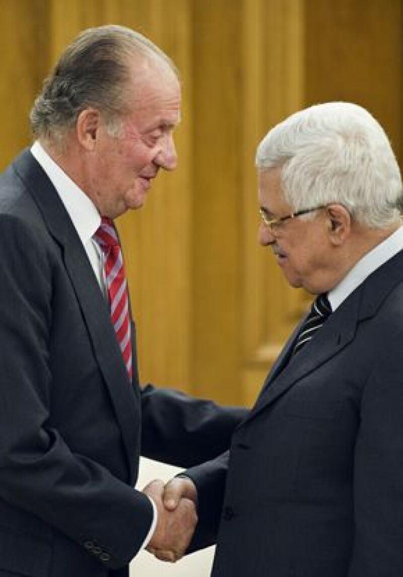 El monarca español llamó a redoblar esfuerzos diplomáticos y lograr acabar con la crisis que se vive en la franja israelí. También habló de la crisis financiera y la toma de posesión de Obama.