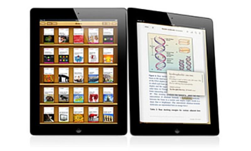 Los principales aliados editoriales en esta primera etapa de iBooks 2 serán Pearson, McGraw Hill, Houghton, Mifflin, Harcourt, entre otras. (Foto: Cortesía Apple)
