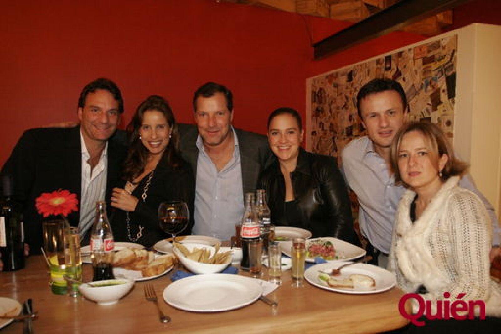 Guillaume Martin, Galia Rodríguez, Jorge Forastieri, Ana Forastieri, Gabriela Esparza, Carlos Esparza