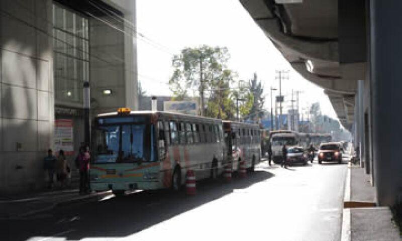 El Gobierno capitalino ofrece servicio gratuito de RTP para los afectados por el cierre parcial de la L12. (Foto: Notimex)