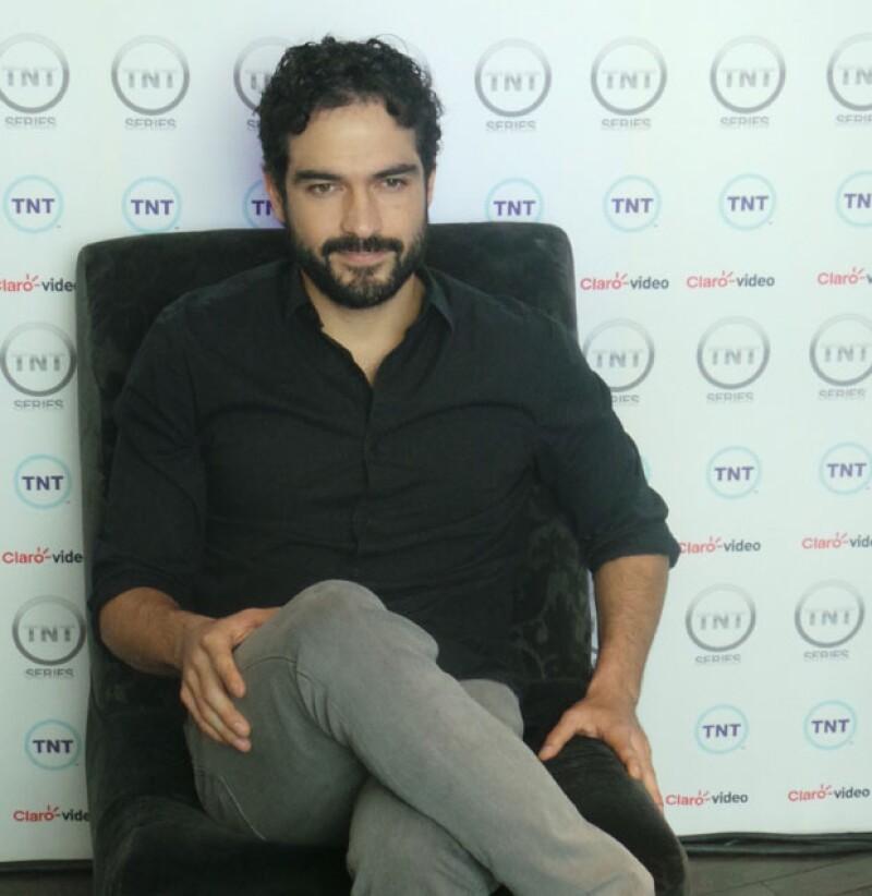 El actor disfruta poder concretar proyectos dentro y fuera de México.