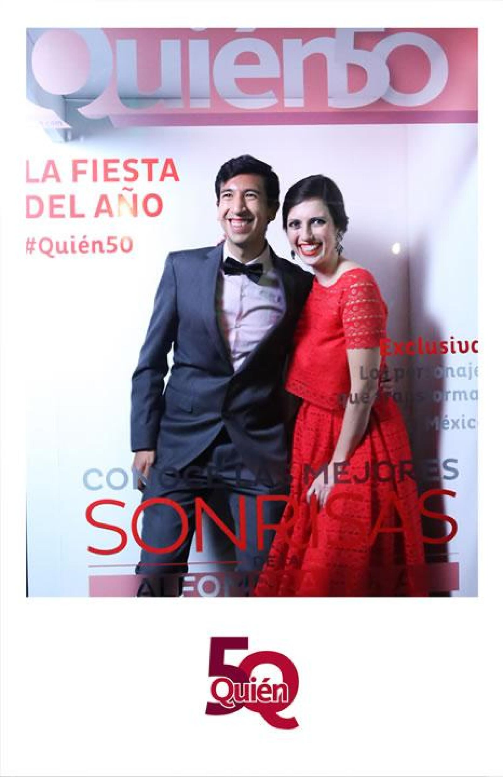 Pedro Kumamoto y Ana Vicencio