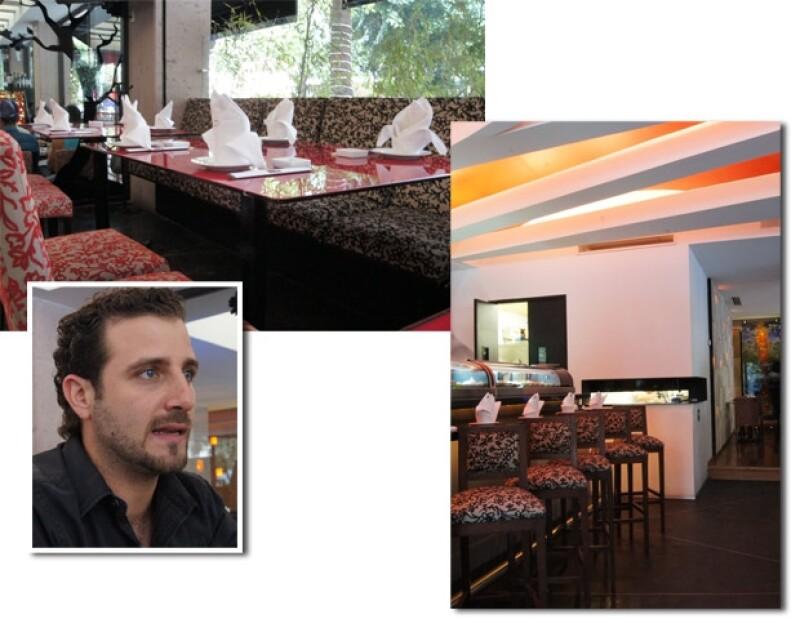 La atención del restaurante Koi es de sus prioridades nos contó Cristian Salem, gerente del lugar.