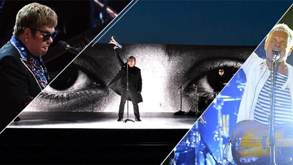 Elton John, U2 y Sting