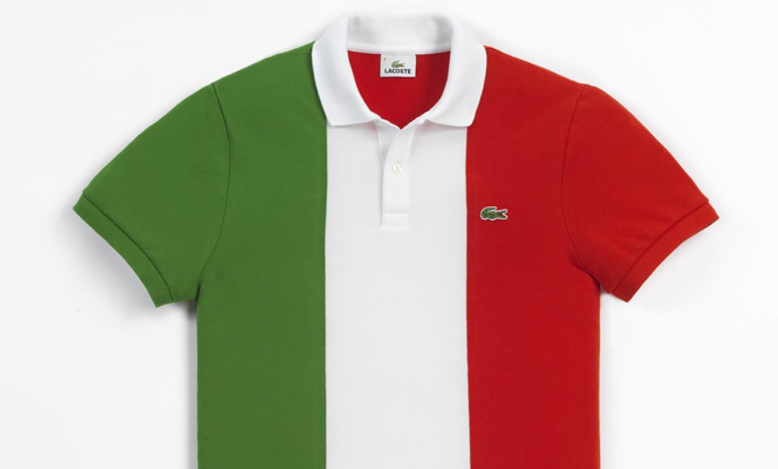 A pesar de que no existe la playera mexicana, si te interesa puedes adquirir la versión con la bandera de Italia.