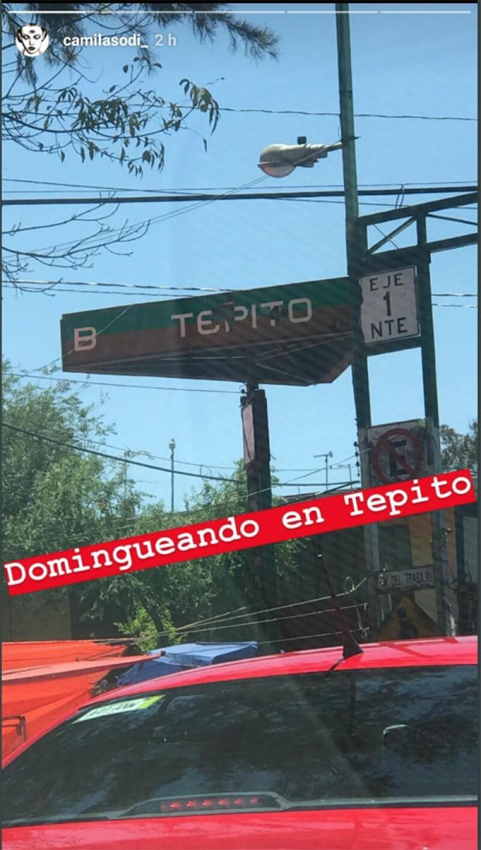 Camila Sodi en Tepito