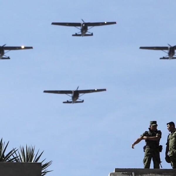 Jalisco, desfile militar