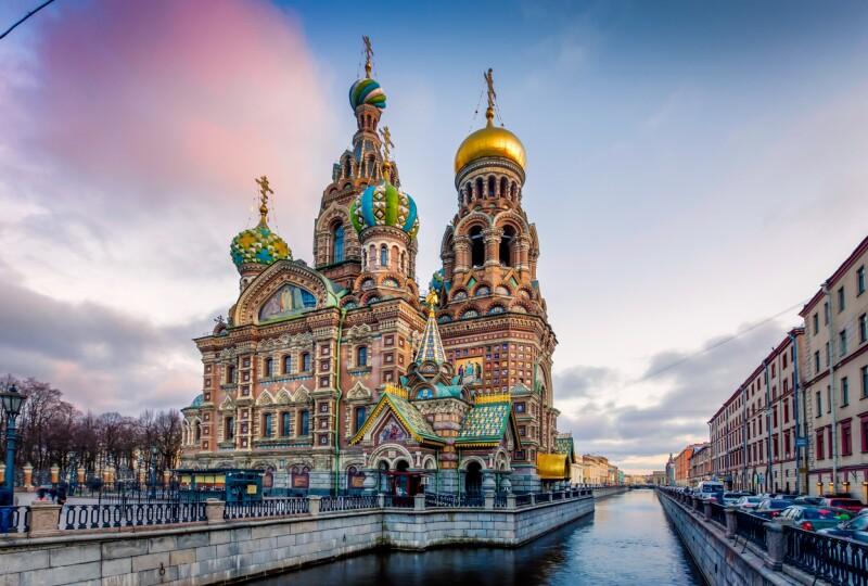 Junio en San Petersburgo, Rusia