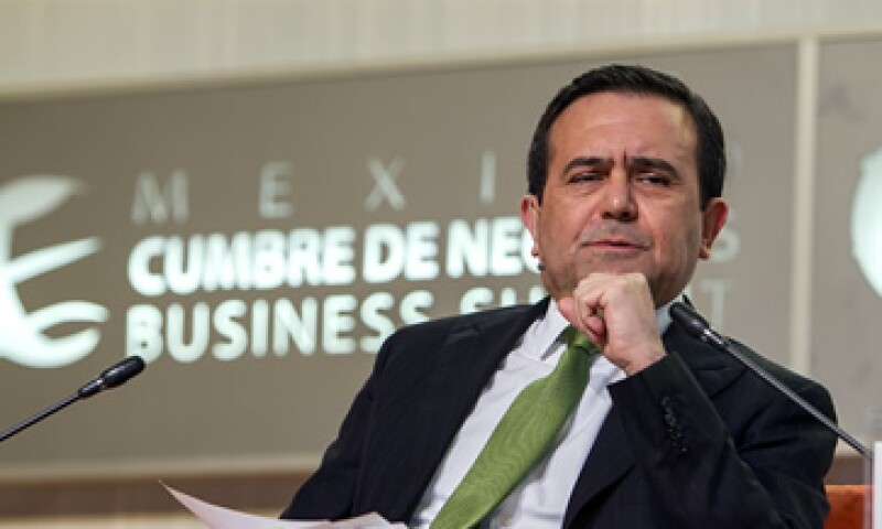 Ildefonso Guajardo, titular de la Secretaría de Economía, dijo que la exportaciones mexicanas se han multiplicado ocho veces de 1994 a la fecha. (Foto: Alfredo López Tagle)