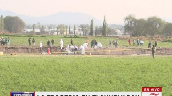 El dolor de las familias de los desaparecidos en Tlahuelilpan