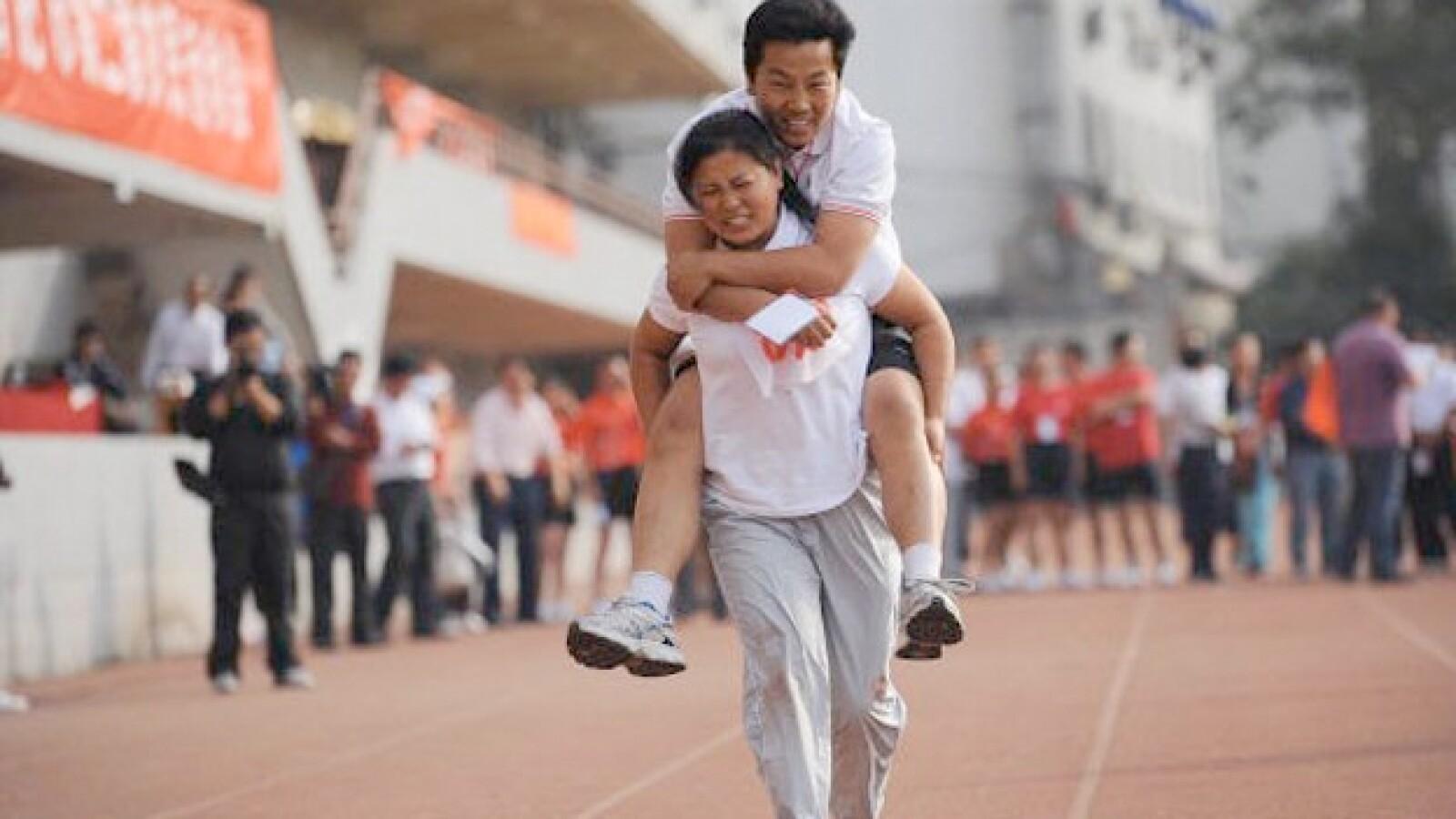 Una pareja china mejora su vida matrimonial