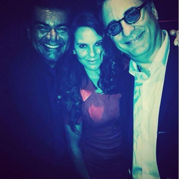 George Lopez, Kate del Castillo, Andy García.