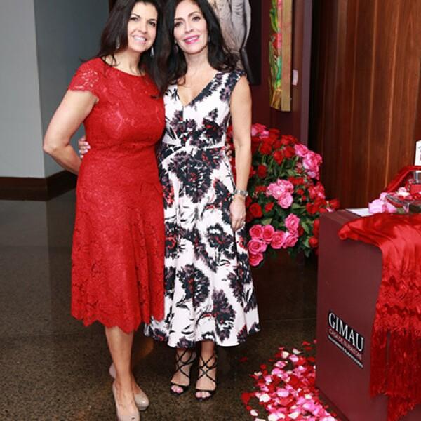 Janet Wapinsky y Carolina Rangel de Palma