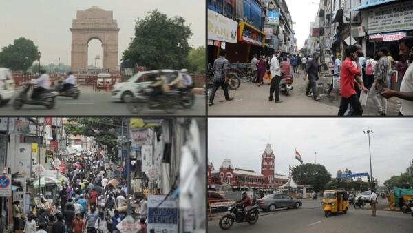 India es el tercer país en superar el millón de casos de COVID-19