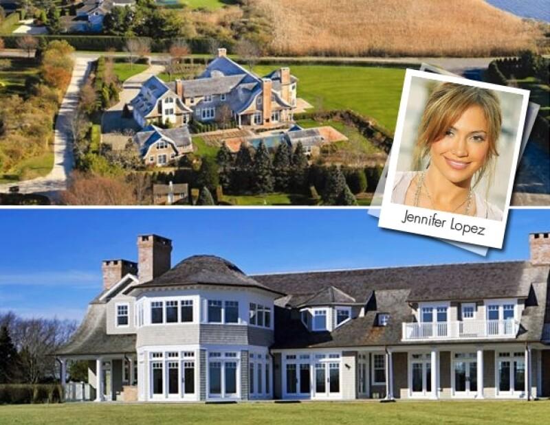 Jennifer Lopez compró su casa de Los Hamptons después de que se divorció de Marc Anthony.