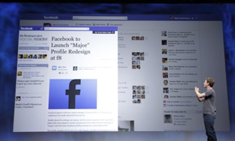 En anuncio de la empresa Dr. Pepper logró llegar al 83% de sus seguidores en Facebook. (Foto: AP)