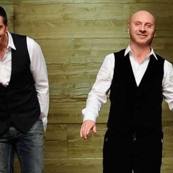 Como se conocieron Stefano y Domenico de Dolce & Gabbana