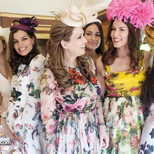 Nuria Carte, Bárbara Coppel, Sonia Falcone, Perrine Falcone, Christina Estrada y Sirina Juffali