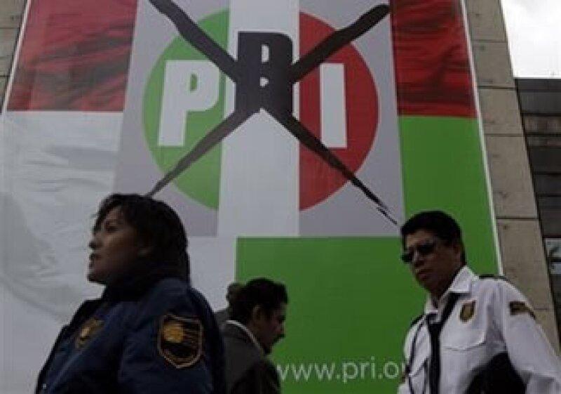 El Partido Revolucionario Institucional habría conseguido entre 241 y 245 escaños en la Cámara de Diputados.  (Foto: AP)