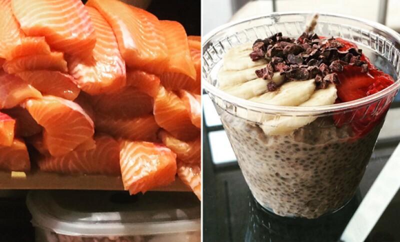 Harley Pasternak además de su exitoso libro, publica en su cuenta de Instagram recetas muy sencillas para una dieta balanceada.