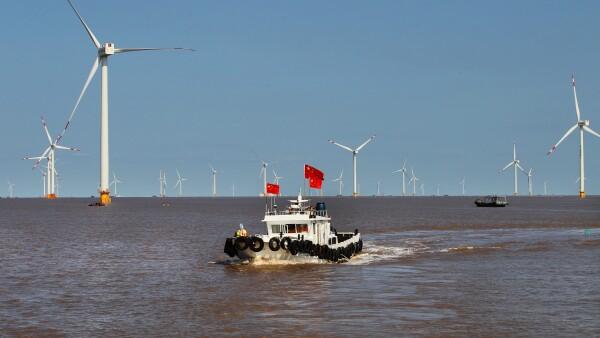Turbinas eólicas marina