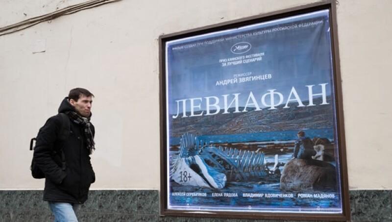 cartel pelicula rusa leviatan