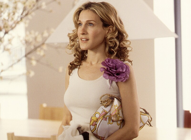 saddle bag carrie bradshaw