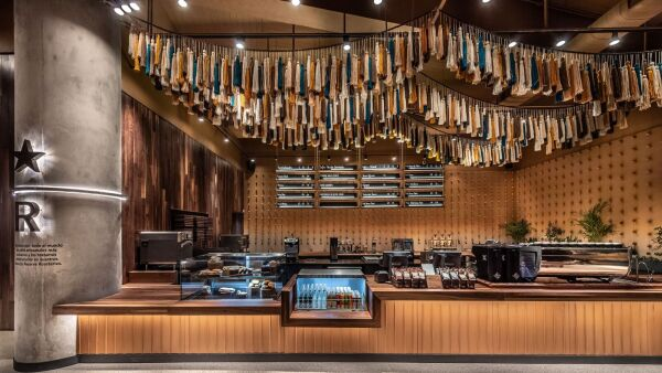 Starbucks Reserve Bar ¡abre sus puertas en Plaza Andares!