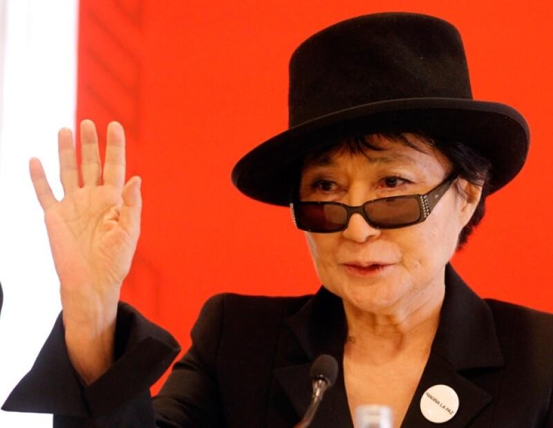 La viuda del legendario 'Beatle&#39 desea que la agrupación mexicana cante uno de los temas más famosos de su fallecido esposo John Lennon.