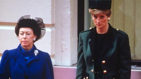 Princesa Margarita y la princesa Diana