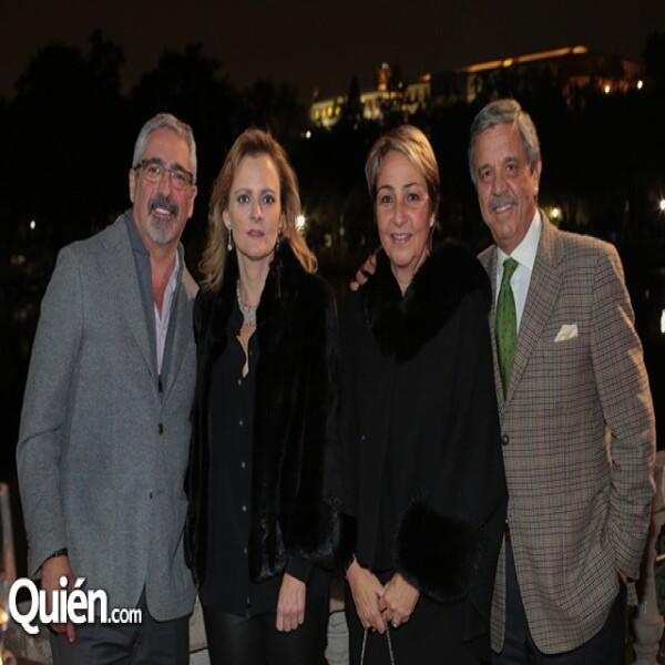 Nathan Broitman, Claudia Broitman, Verónica Bustamante, Edmundo Torres