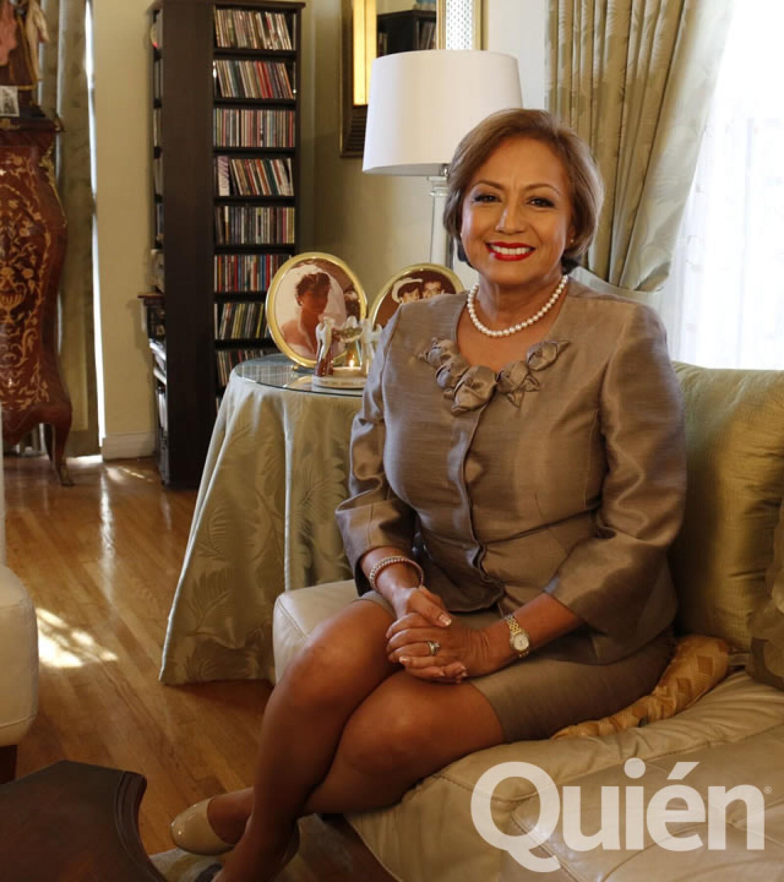 Rosario Marín,  ex secretaria del Tesoro de Estados Unidos y conferencista. La mexicana que ha tenido el mayor puesto federal en Estados Unidos.