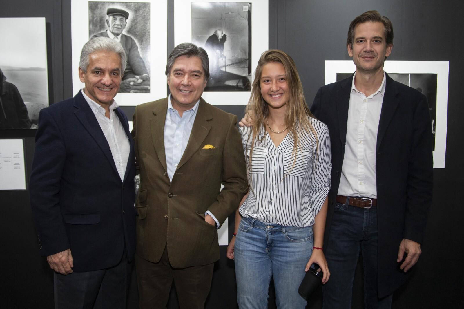 Manuel Ibarra, Hugi Villalobos, Alexia Stevens Dennis Stevens