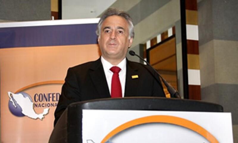 Miguel Torruco se desempeñó  desde el 19 de febrero de 2007 como dirigente de la CNT. (Foto: De Confederación Nacional Turística)