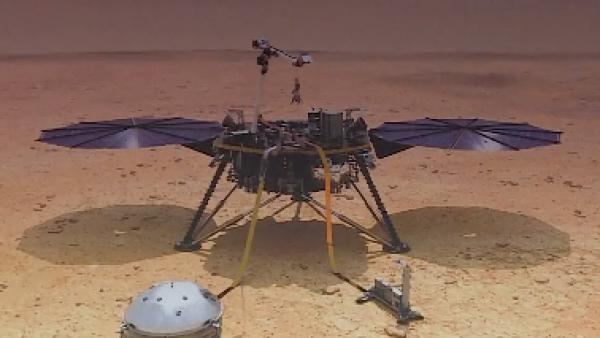 Esta es la arriesgada misión de la sonda InSight de la NASA