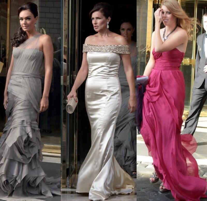 Tamara Ecclestone, Slavica Radic y la princesa Beatriz fueron de las mejor vestidas.