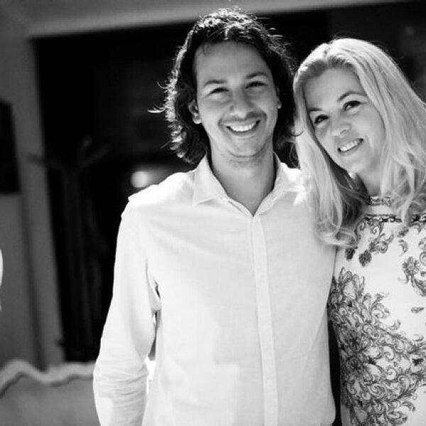 Daniel Kandell y Sarah Hoch.