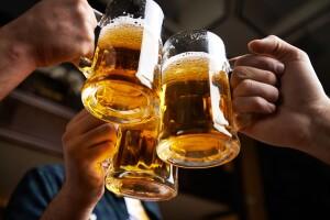 Estadios llenos de cerveza.