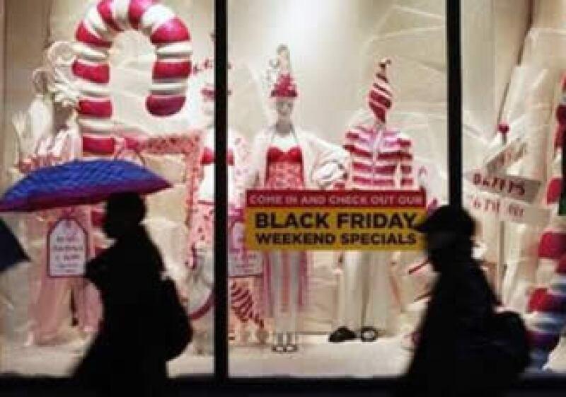Este 27 de noviembre inicia la temporada de compras navideñas en EU. (Foto: Reuters)