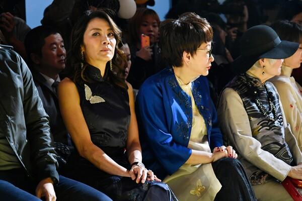 Shiatzy Chen show, Front Row, Fall Winter 2018, Paris Fashion Week, France - 05 Mar 2018